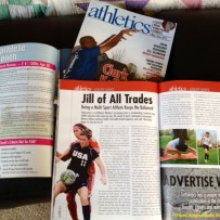 Featured By Columbus Sports Magazine, 11 Athletics, as Female Athlete of the Month and Wrote My Own Article :)