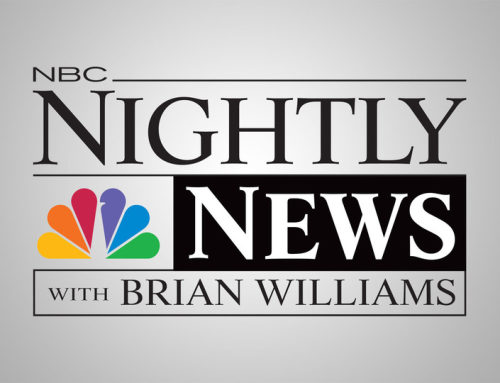 Sarah Plummer on NBC Nightly News with Brian Williams