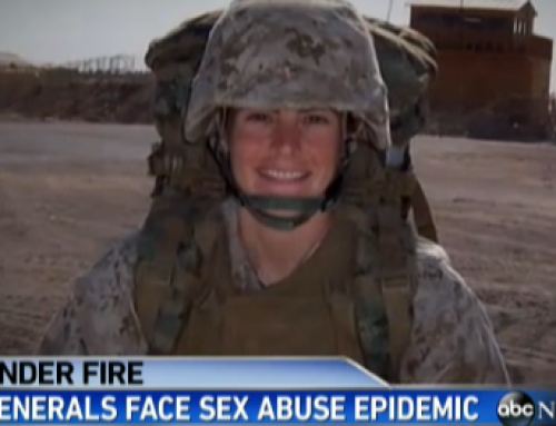 """ABC News with Diane Sawyer: Military Sexual Assault """"Like Cancer"""""""