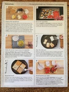 Seared Halloumi sandwiches on Focaccia recipe steps Semper Sarah Blue Apron