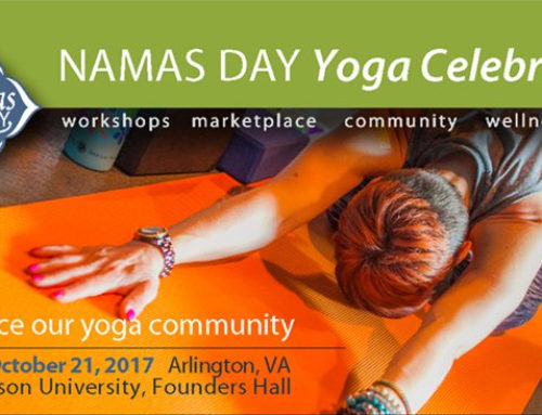 DC Area Yoga Enthusiasts – Early Bird Discount before Aug 31st to NamasDay Yoga Celebration Oct 21st