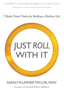 Just Roll With It Sarah Plummer Taylor flat front book cover